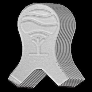 Аппликатор-деревце для разделения и натяжения ресницы на валике - 1шт.,бренд Elleebana